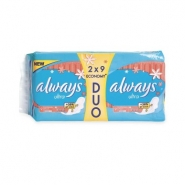 ALWAYS Ultra Fresh duo pack 2 x 9buc